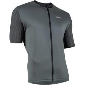 UYN Activyon MTB OW Maglietta Con Zip Intera Uomo, iron